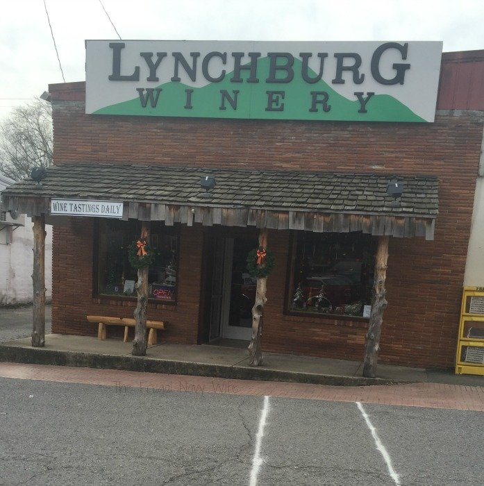 Downtown Lynchburg, Tennessee wineary
