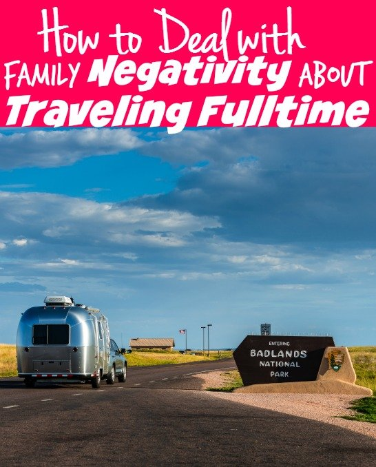 How to Deal with Negative Friends and Family About Traveling