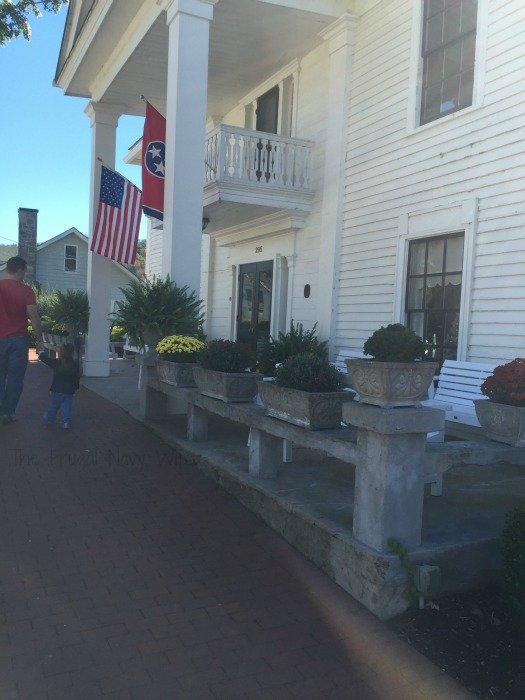 Miss Mary Bobo's Boarding House - Lynchburg, Tennessee Outside House