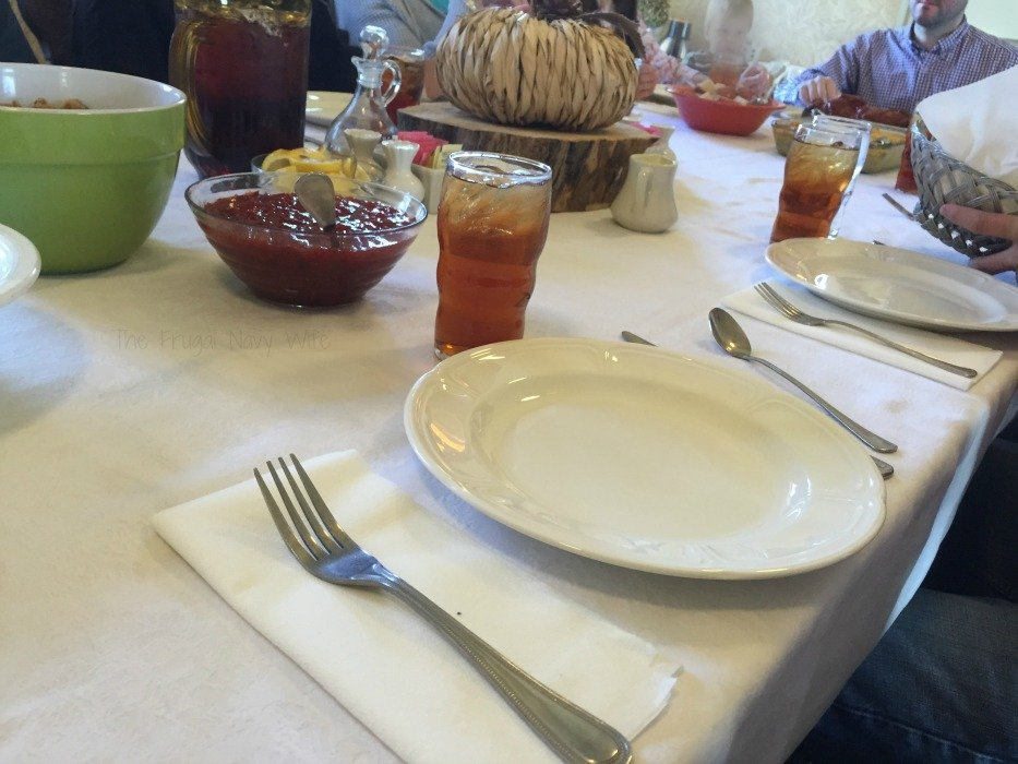 Miss Mary Bobo's Boarding House - Lynchburg, Tennessee Table