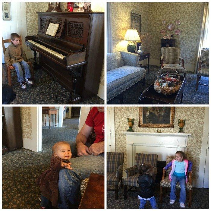 Miss Mary Bobo's Boarding House - Lynchburg, Tennessee Waiting Room