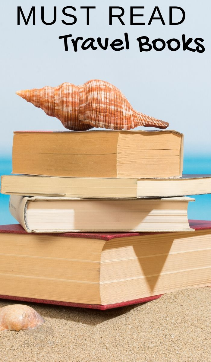 Wanderlust for traveling often begins when we are young and are reading about far off places. Use these 13 Must Read Travel Books to spark your interest. #travel #ourroaminghearts #mustreadbooks #wanderlust # travelbooks | Travel Books | Wanderlust Books | Adventurous Books |