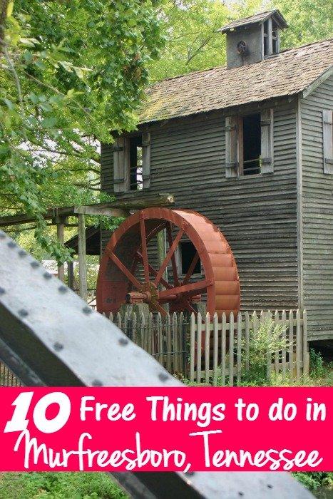 10 Free Things to do in Murfreesboro TN