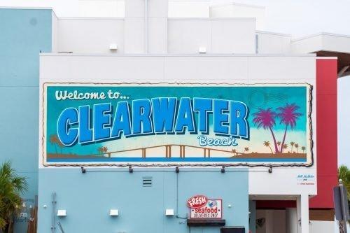 Clearwater Beach Mural