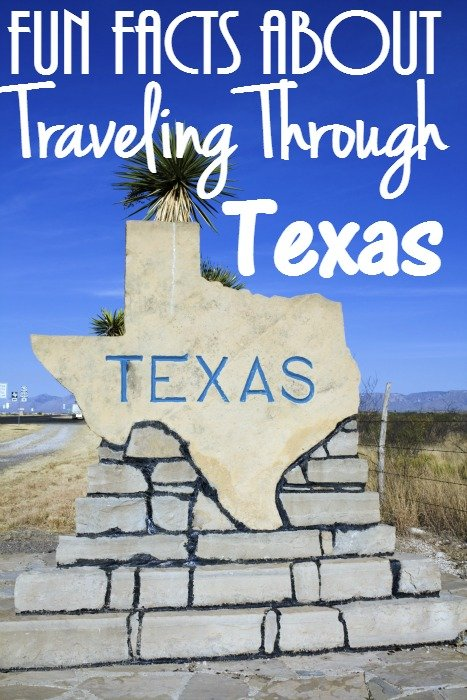 Fun Facts About Traveling Through The State of Texas