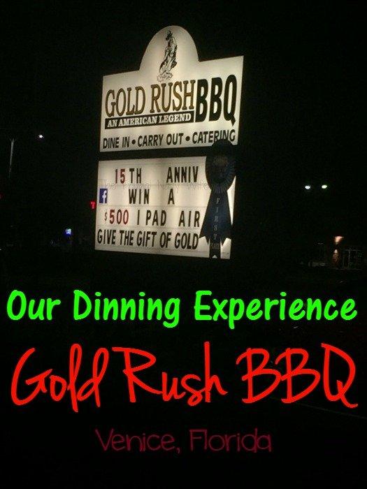 Gold Rush BBQ - Venice, Florida