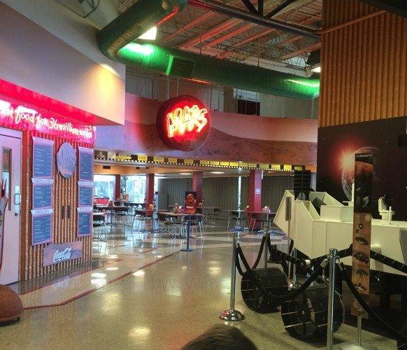 NASA Space Center - Huntsville, Alabama Cafe