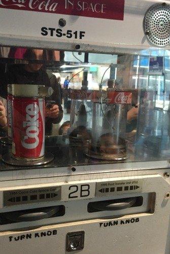 NASA Space Center - Huntsville, Alabama Coke in Space