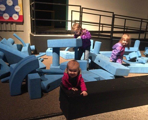 NASA Space Center - Huntsville, Alabama Foam Play Area Baby