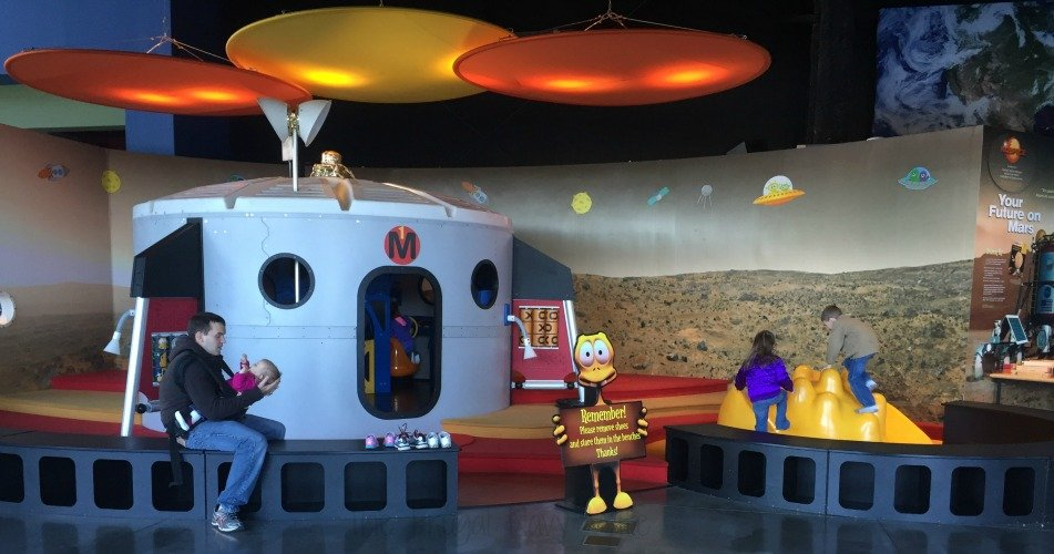 NASA Space Center - Huntsville, Alabama Kids Play Area