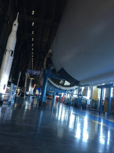 NASA Space Center - Huntsville, Alabama Rocket Ceiling