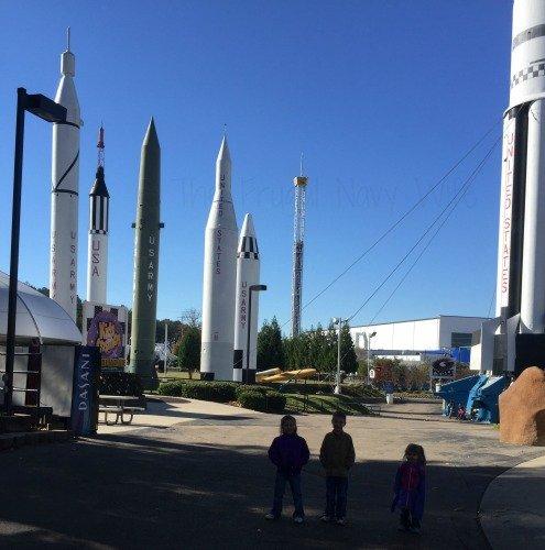 NASA Space Center - Huntsville, Alabama Rocket Garden