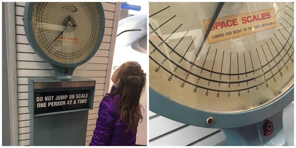 NASA Space Center - Huntsville, Alabama Scale