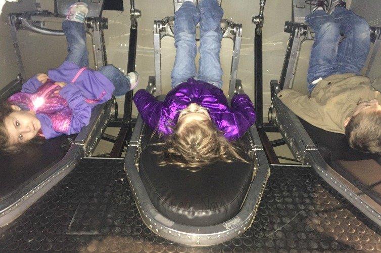 NASA Space Center - Huntsville, Alabama Seat Simulator