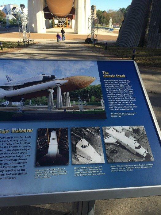 NASA Space Center - Huntsville, Alabama Shuttle Stack