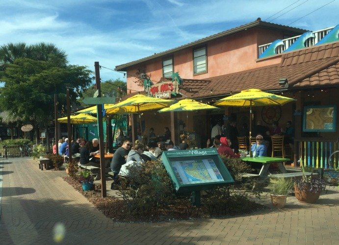 Siesta Key sand, souviniers, real estate, boats, cars, time shares, condo rentals, and house rentals. The Red Barn Flea Market. Stroll paved lanes and comb through tons of great stuff in protected shade. Then head outside for even more. There are more than booths. Live music every Wednesday and Friday. First Street East. Bradenton, Florida.