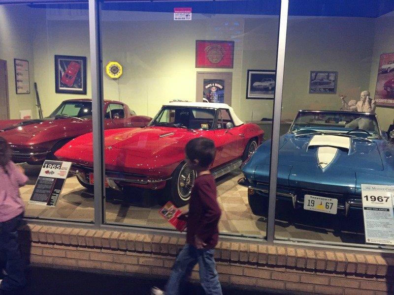 The National Corvette Museum - Bowling Green, Kentucky 60s Corvettes