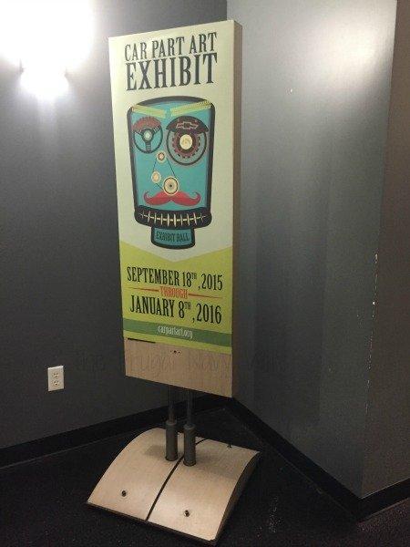 The National Corvette Museum - Bowling Green, Kentucky Art Sign