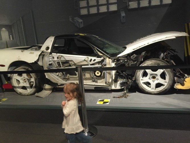 The National Corvette Museum - Bowling Green, Kentucky Crash Car