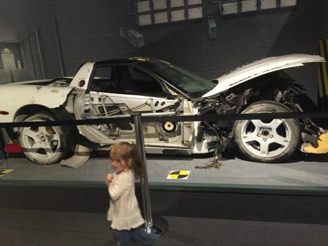 The National Corvette Museum - Bowling Green, Kentucky Crash Car