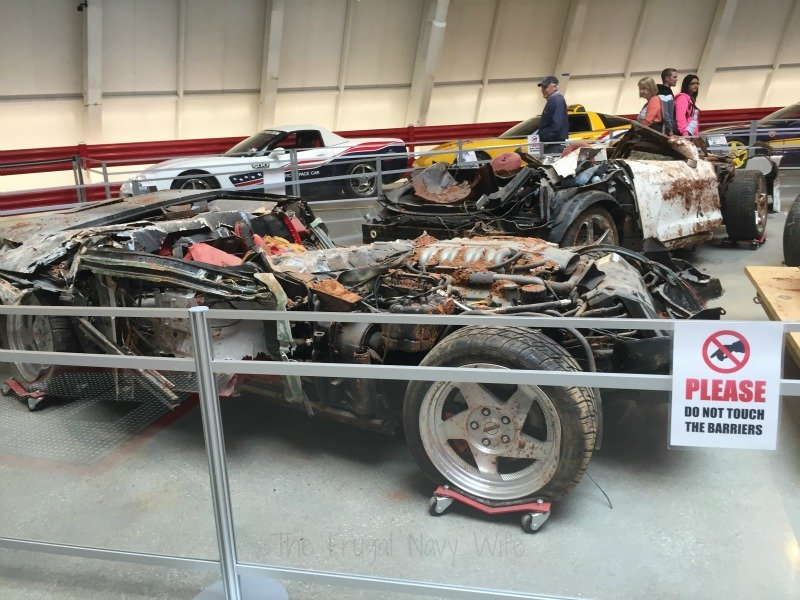 The National Corvette Museum - Bowling Green, Kentucky Crushed Car