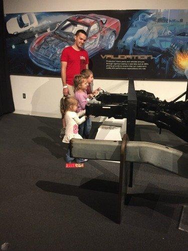 The National Corvette Museum - Bowling Green, Kentucky Frame