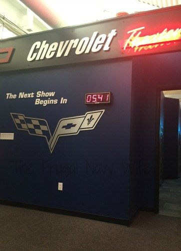 The National Corvette Museum - Bowling Green, Kentucky Movie Time