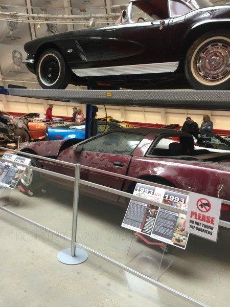 The National Corvette Museum - Bowling Green, Kentucky Sinkhol Cars