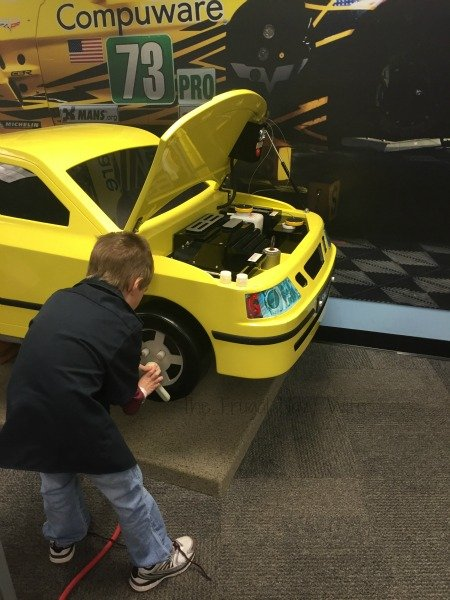 The National Corvette Museum - Bowling Green, Kentucky Tires