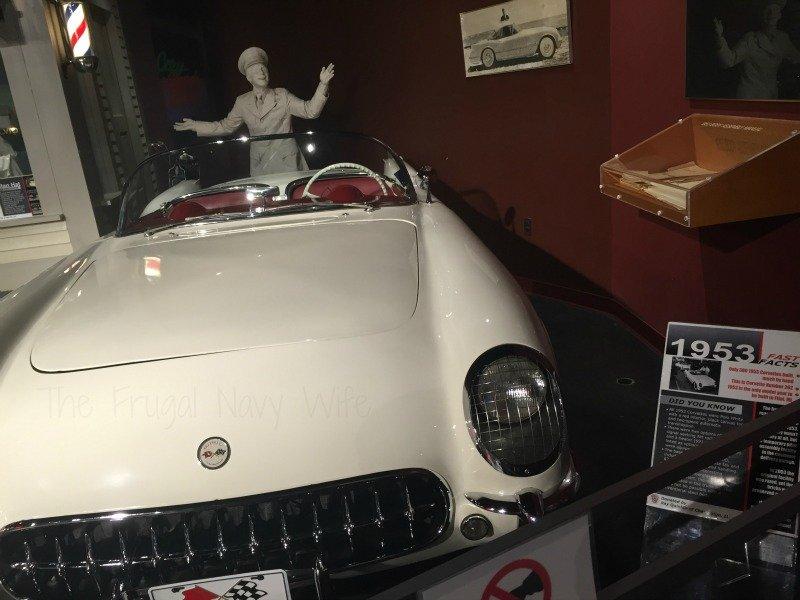 The National Corvette Museum - Bowling Green, Kentucky White Car