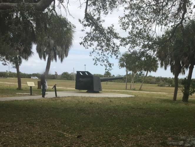 Fort De Soto Park, Historic Fort and Museum - St. Petersburg Florida Cannons Far Away