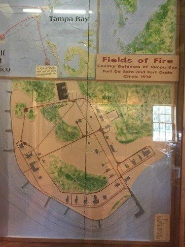 Fort De Soto Park, Historic Fort and Museum - St. Petersburg Florida Museum Map