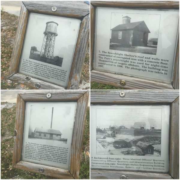 Fort De Soto Park, Historic Fort and Museum - St. Petersburg Florida Signs Coll