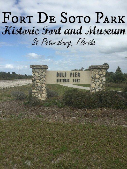 Fort De Soto Park, Historic Fort and Museum - St. Petersburg Florida