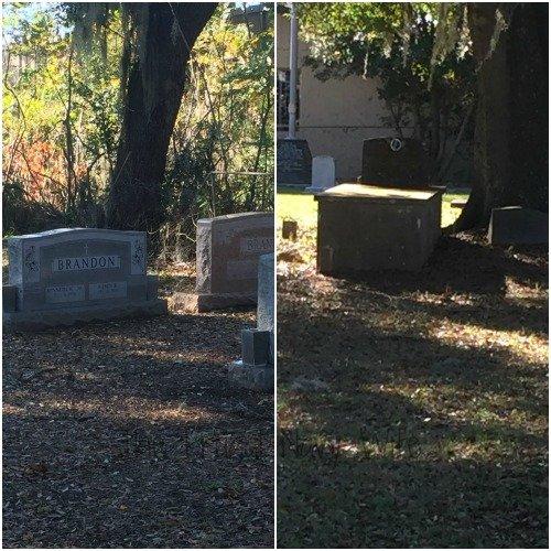 Historical Brandon Florida Driving Tour Graves