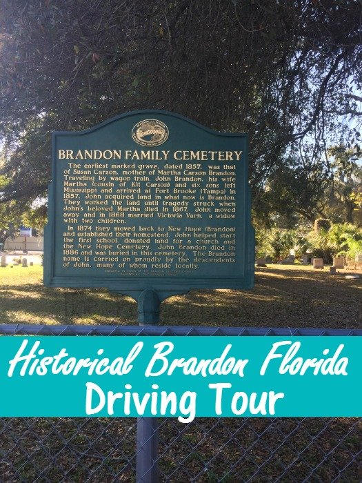 Historical Brandon Florida Driving Tour
