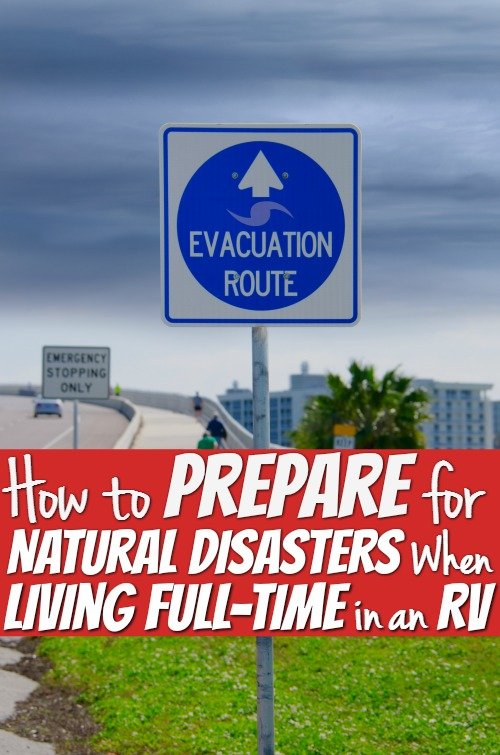 How to Prepare for Natural Disasters When Living Full-Time in an RV