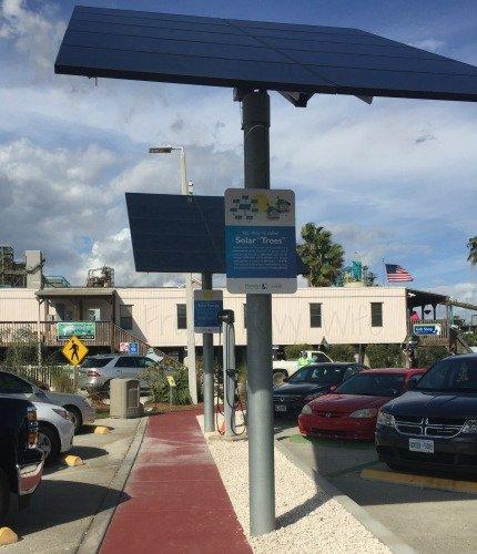 Manatee Viewing Center - Apollo Beach Florida Solar Panel