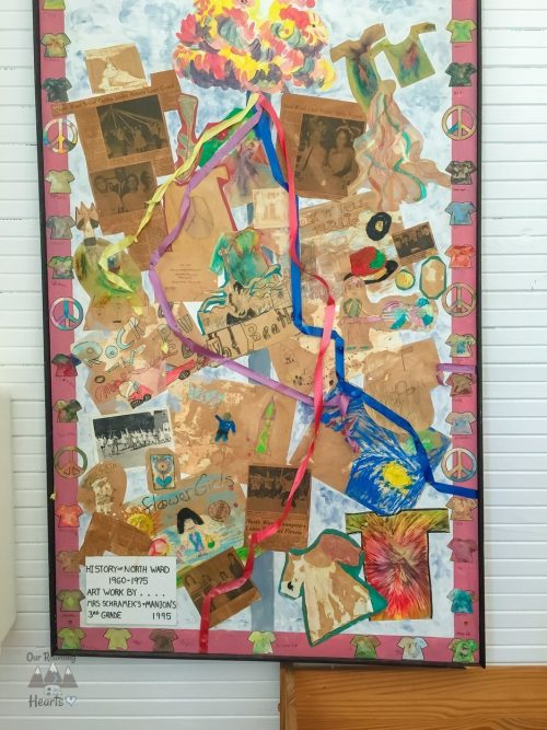 Pinellas County Heritage Village Harris School Art Wrok