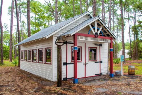Pinellas County Heritage Village Firehouse