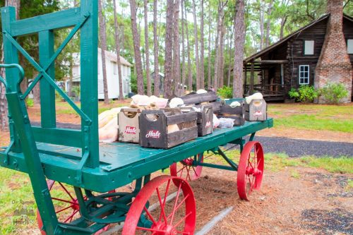 Pinellas County Heritage Village Fruit Cart