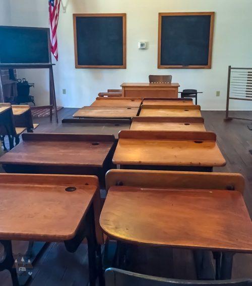 Pinellas County Heritage Village Union School Room