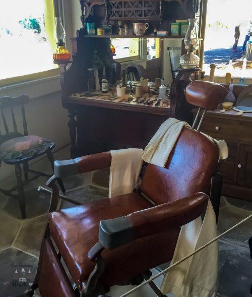 Pinellas County Heritage Village Barber Shop