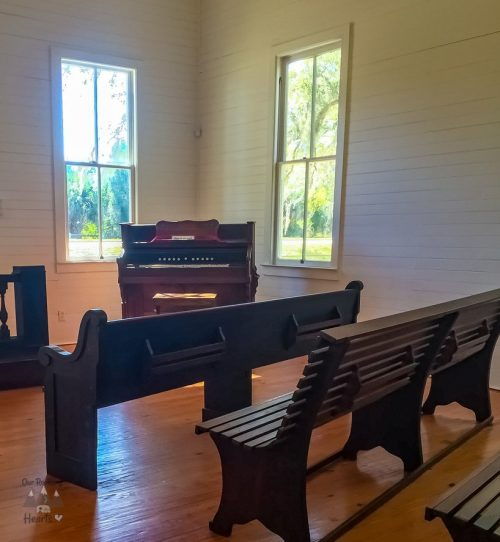 Pinellas County Heritage Village Church Pews