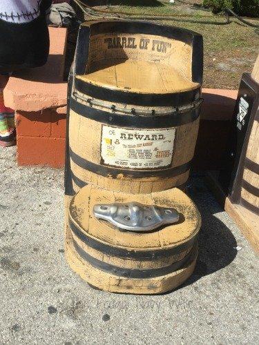 The Florida State Fair - Tampa Florida Barrel Seat