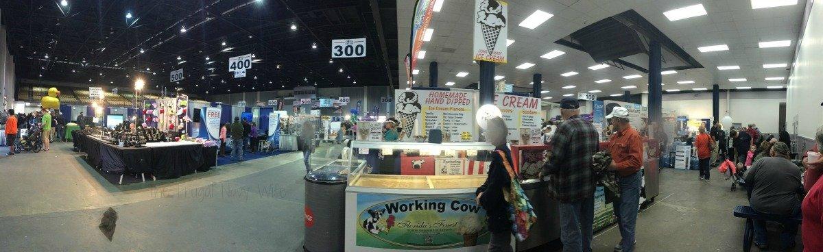 The Florida State Fair - Tampa Florida Expo Hall