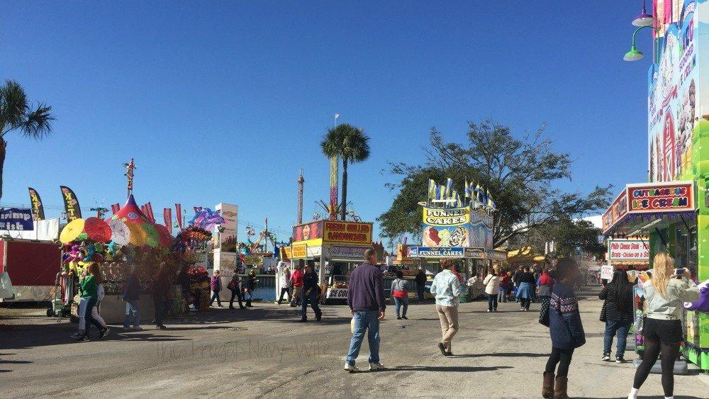 The Florida State Fair - Tampa Florida Fair Food