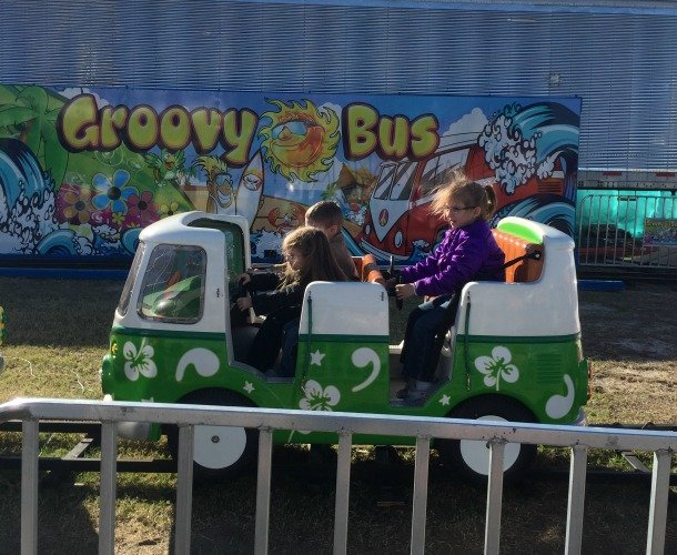 The Florida State Fair - Tampa Florida Groovy Bus