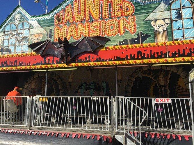 The Florida State Fair - Tampa Florida Haunted Ride