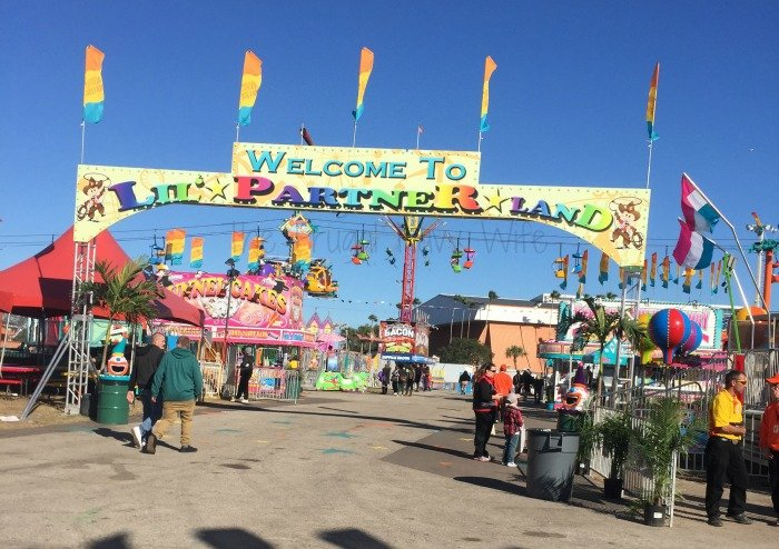 The Florida State Fair - Tampa Florida Kiddie Midway